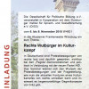 DISS-Colloquium 2015: Rechte Wutbürger im Kulturkampf