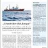 DISS-Journal: Sonderdruck zur Seenotrettung Geflüchteter im Mittelmeer