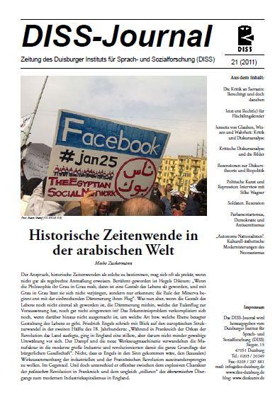 Titelseite DISS-Journal 21